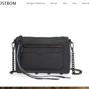 Rebecca Minkiff Avery Crossbody Black Bag